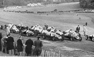 Starting Grid at Brands Sept 50