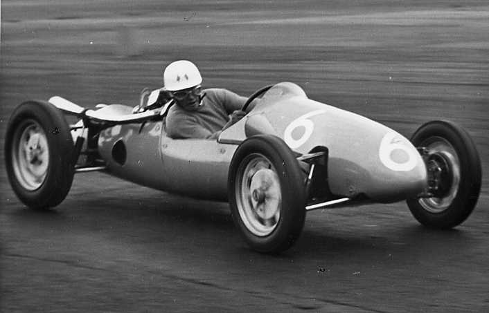 David Bosher Jones Cooper Silverstone 100 Sept 55.jpg (24466 bytes)